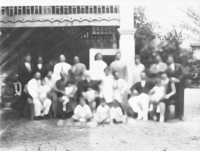 de familie da Silva, Kerst 1927